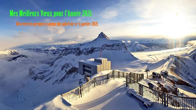 Suisse, recevez Mes Meilleurs Voeux pour l'année 2021