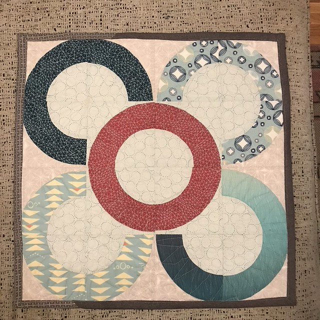 Fabric Challenge Mini Quilt
