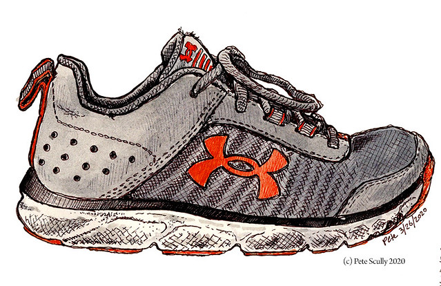 Under Armour shoes size 5Y