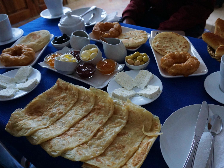 Dar Zambra breakfast