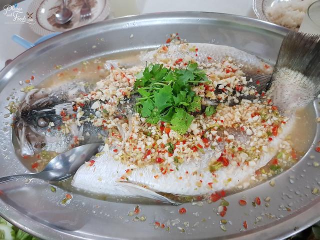 baiyok restaurant betong steamed fish