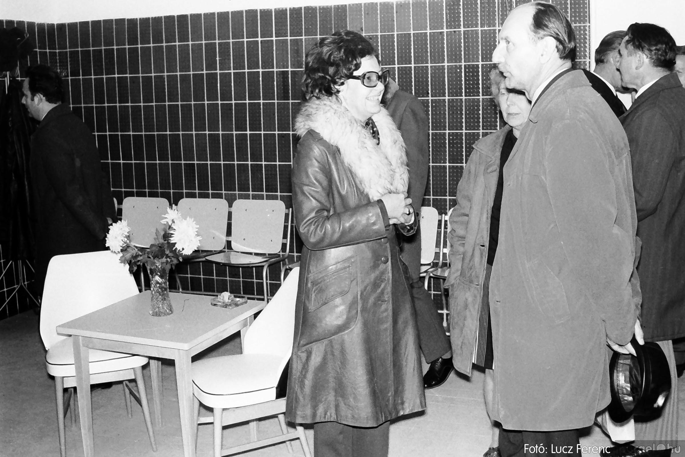 002 1970-es évek - Orvosi rendelő épületének átadása 022 - Fotó: Lucz Ferenc - IMG01120q.jpg