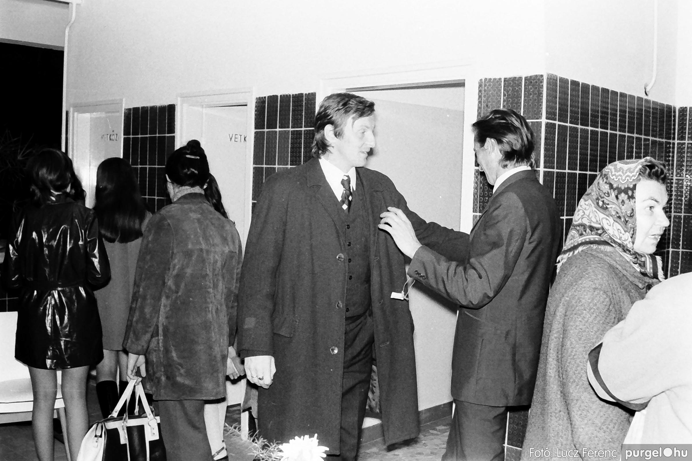 002 1970-es évek - Orvosi rendelő épületének átadása 018 - Fotó: Lucz Ferenc - IMG01116q.jpg