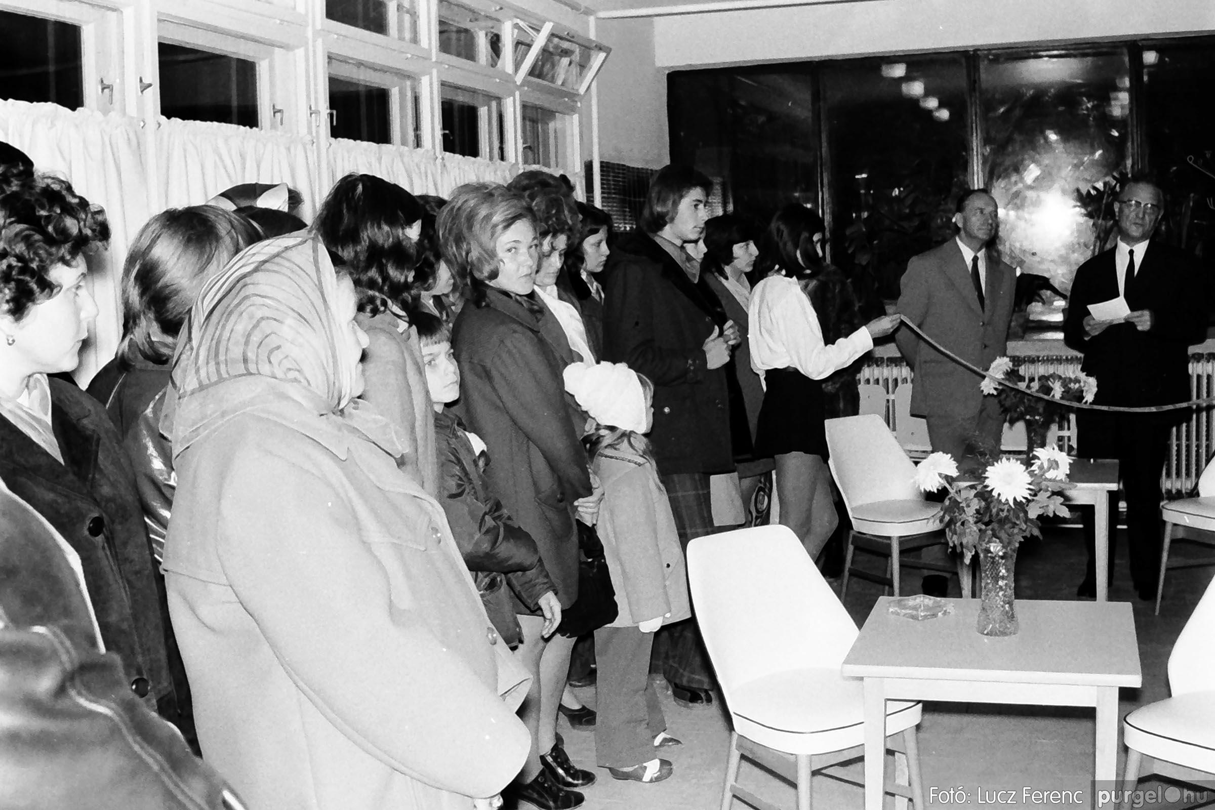002 1970-es évek - Orvosi rendelő épületének átadása 006 - Fotó: Lucz Ferenc - IMG01104q.jpg