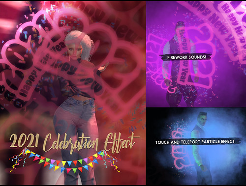 -Birth- '2021' Celebration Effect Advert