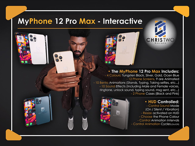 MyPhone 12 Pro Max - INTERACTIVE - [Chris Two Designs]