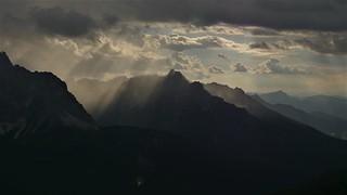 Wolkenspiel in den Karnischen Alpen