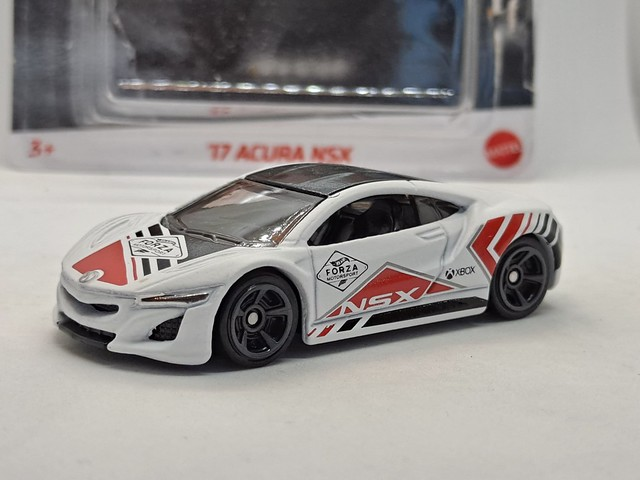 HOT WHEELS 2017 ACURA NSX MK2 NO12 FORZA MOTORSPORT 1/64