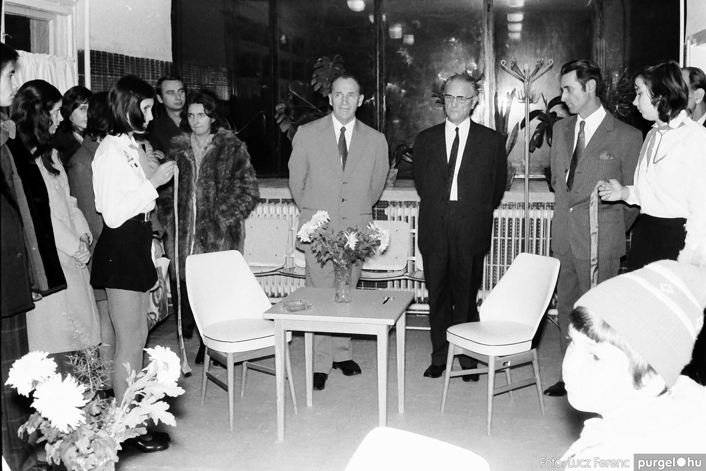 002 1970-es évek - Orvosi rendelő épületének átadása 015 - Fotó: Lucz Ferenc - IMG01113q.jpg