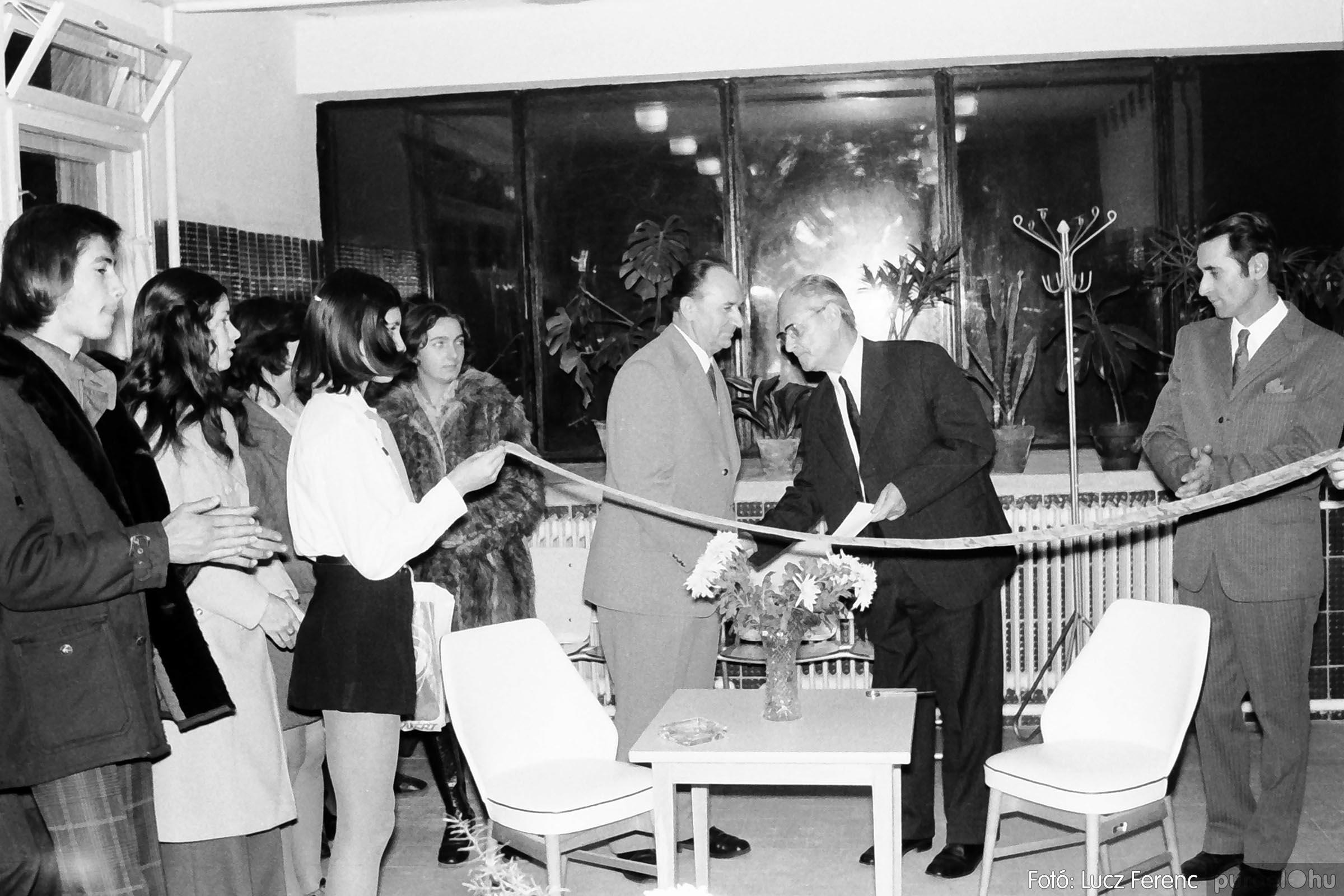 002 1970-es évek - Orvosi rendelő épületének átadása 014 - Fotó: Lucz Ferenc - IMG01112q.jpg