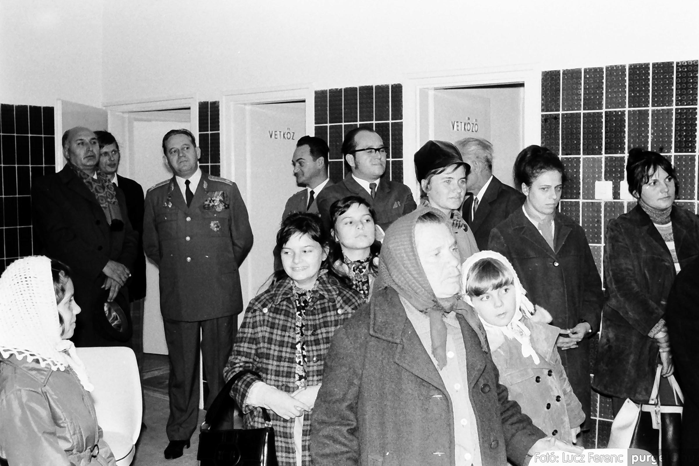 002 1970-es évek - Orvosi rendelő épületének átadása 016 - Fotó: Lucz Ferenc - IMG01114q.jpg