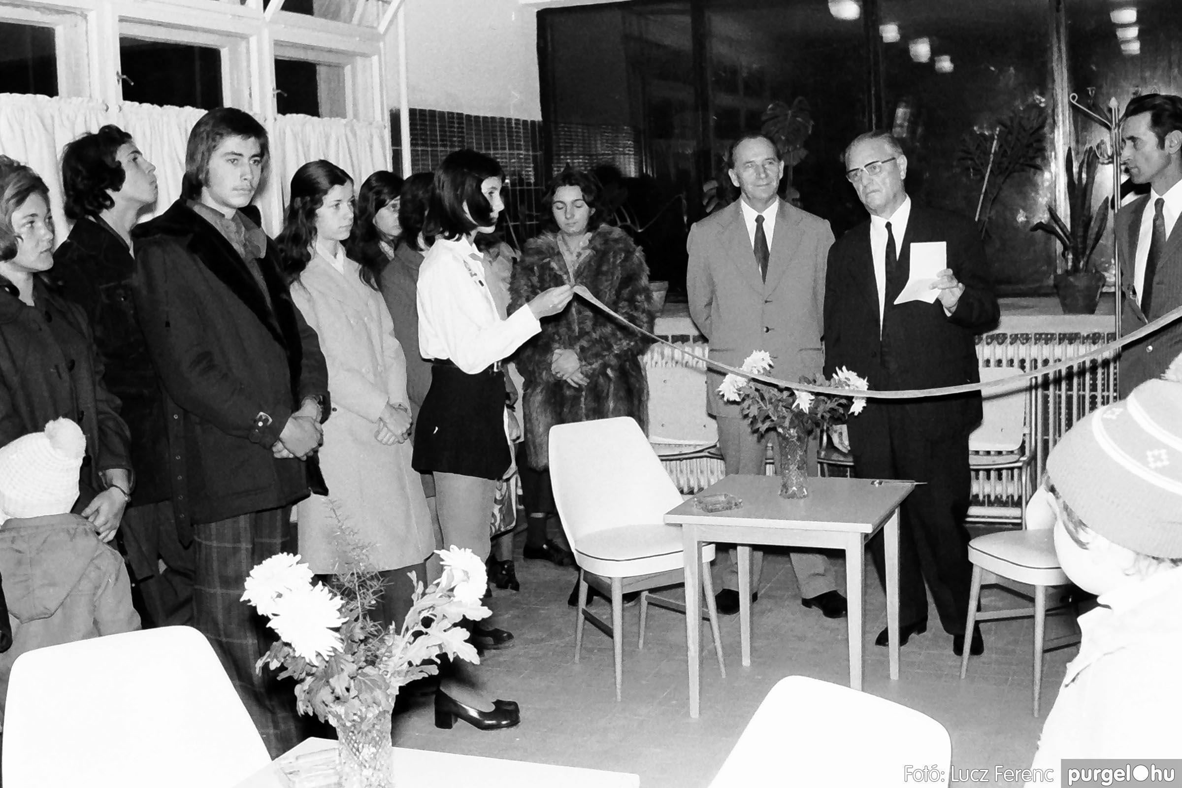 002 1970-es évek - Orvosi rendelő épületének átadása 013 - Fotó: Lucz Ferenc - IMG01111q.jpg