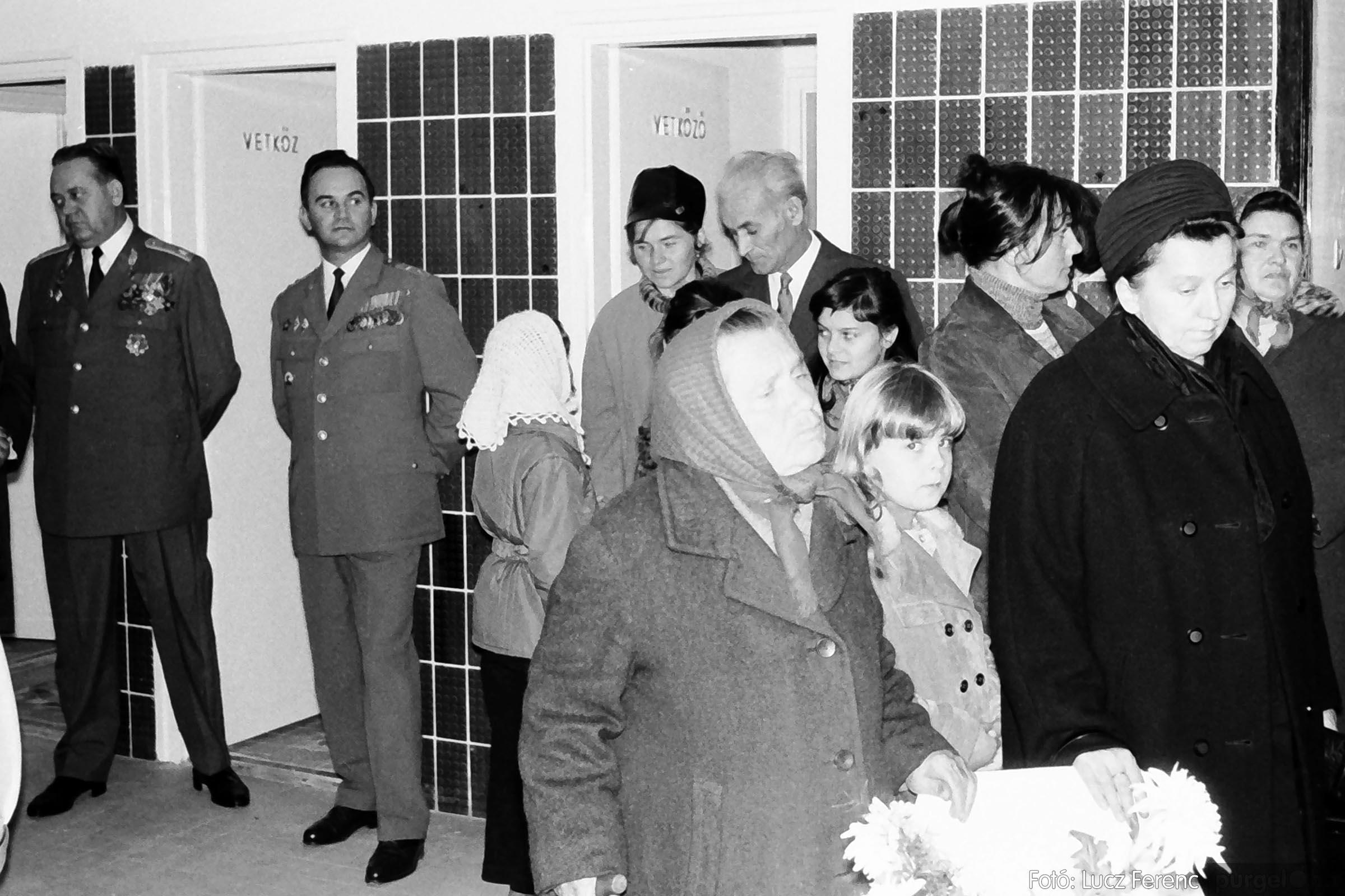002 1970-es évek - Orvosi rendelő épületének átadása 011 - Fotó: Lucz Ferenc - IMG01109q.jpg