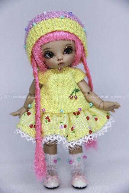 Yellow & Cherry Outfit Pkipuki 1/12