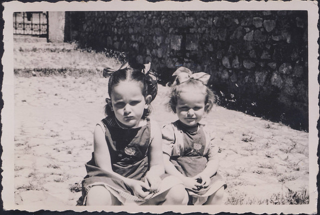 Sisters, Sermoneta, 1954