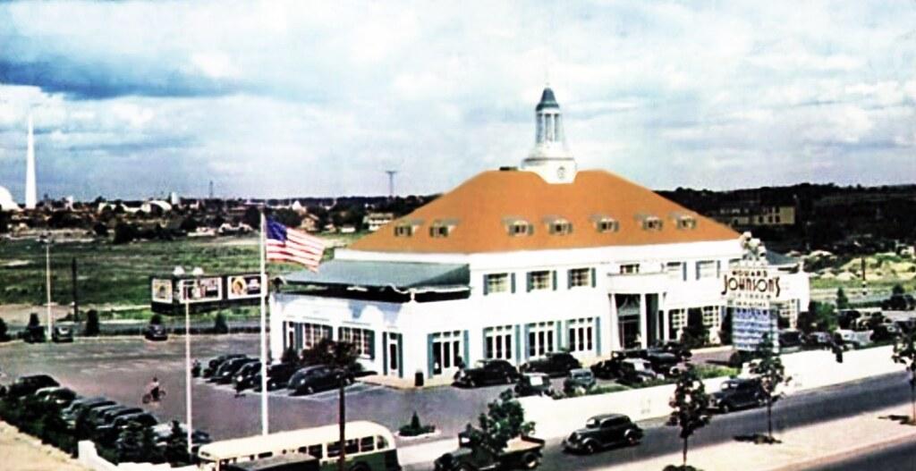 Howard Johnson's, Queens Boulevard -- 1939