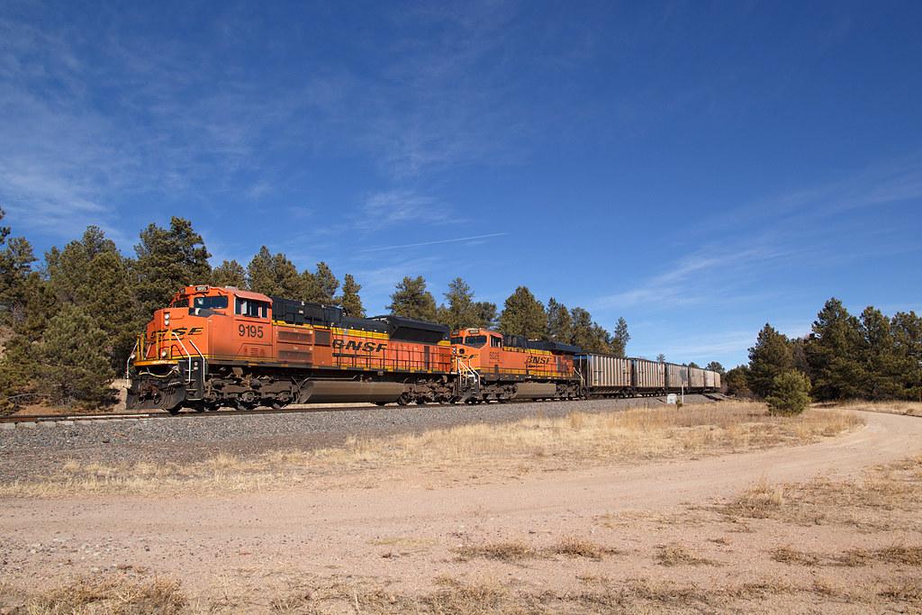 BNSF 9195 USAFA 26 Dec 20