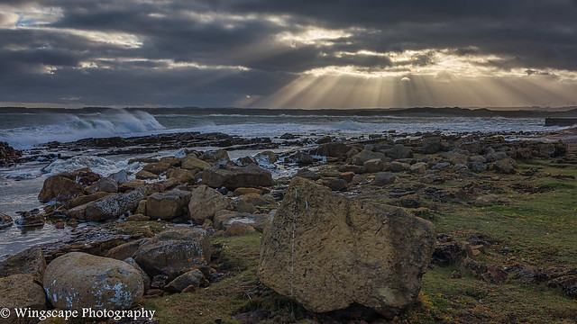 Stormy Weather At Beadnell - (Explore 01/01/21 #250)