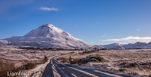 On the Errigal Road