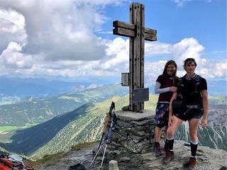 Gipfelkreuz-Pfannspitze-2.678m