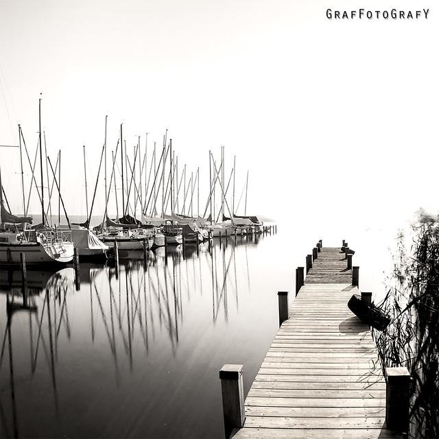 Somewhere on Lake Starnberg on a sunny day