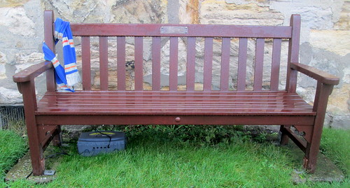 Ibrox Disaster Memorial Bench, Markinch