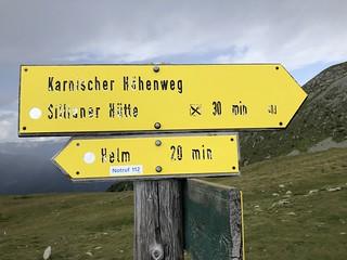 KHW 403-Wegweiser