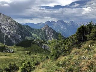 Fantastischer Blick auf die Dolomiten