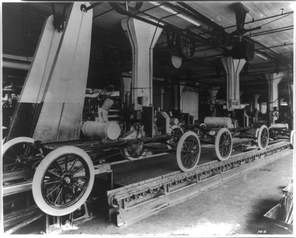 The Model T was the first car Ford Motor Company introduced to the public in 1908