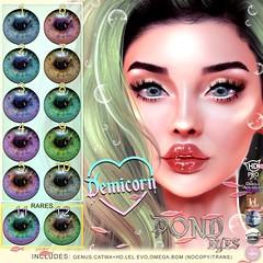 {Demicorn} Pond Eyes Gacha Key