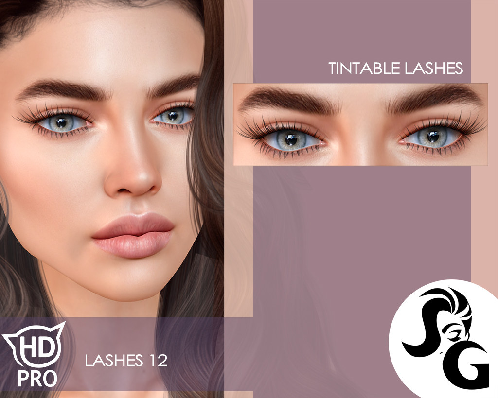 Natural Look Lashes HDPRO Heads