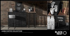 BLACK NEST | Aamu Coffee Collection | FaMESHed