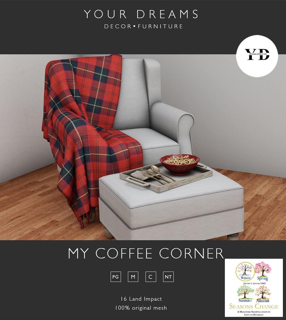 {YD}My coffee corner
