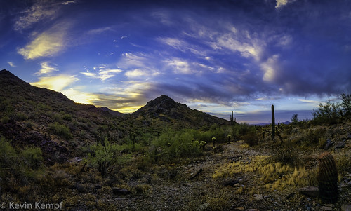 arizona hiking mcdowellsonoranpreserve scottsdale sunrise clouds desert landscape cactus sky saguaro mountains