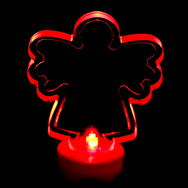angel light in the dark