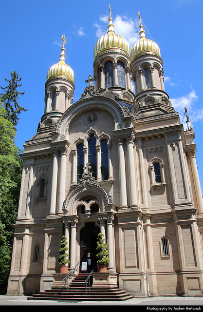 Russisch-Orthodoxe Kirche, Wiesbaden, Germany