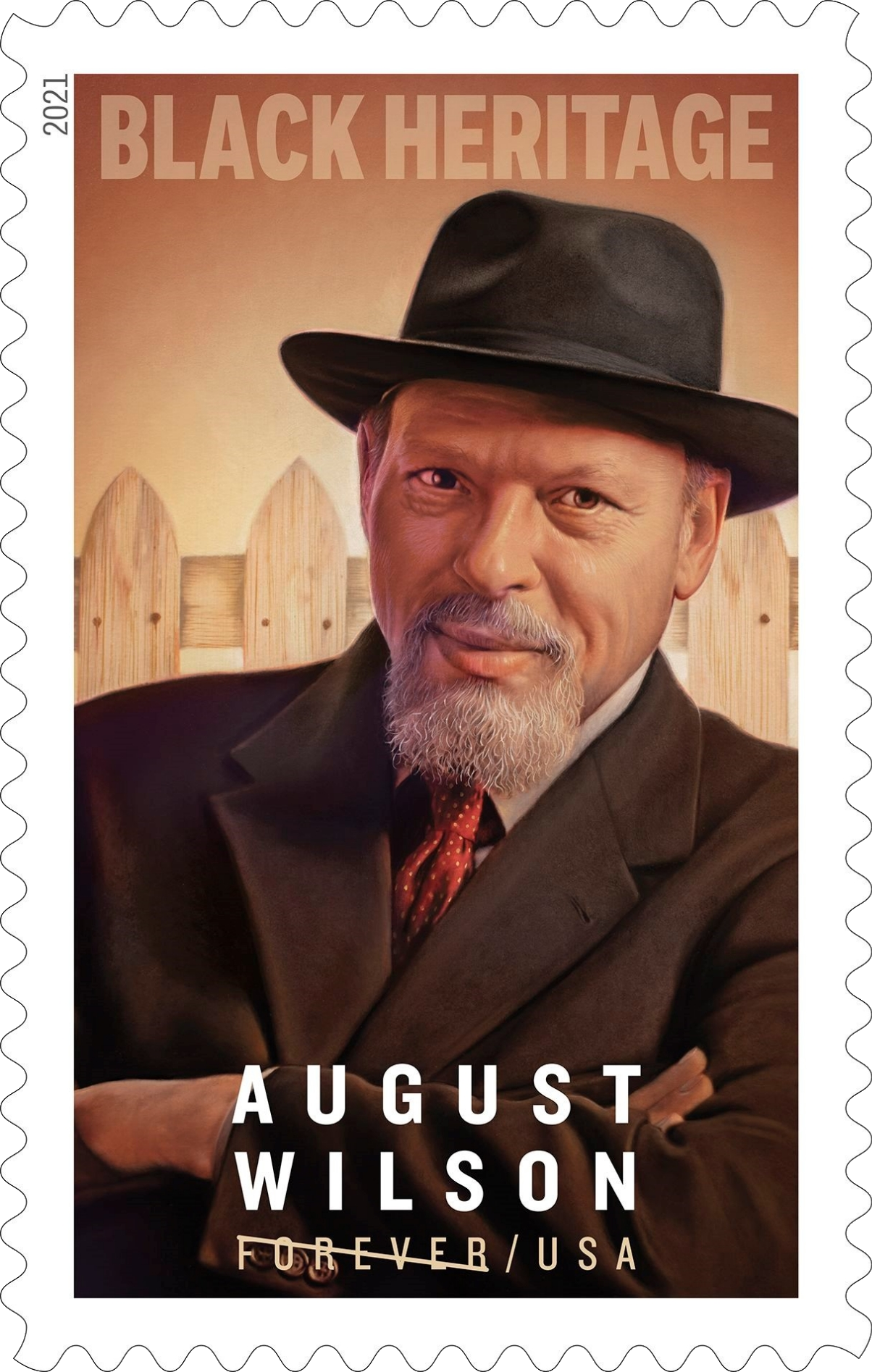 United States: Black Heritage - August Wilson, 28 January 2021