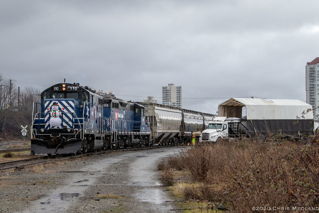 SRY 110 ~ Wellcox Yard, Nanaimo