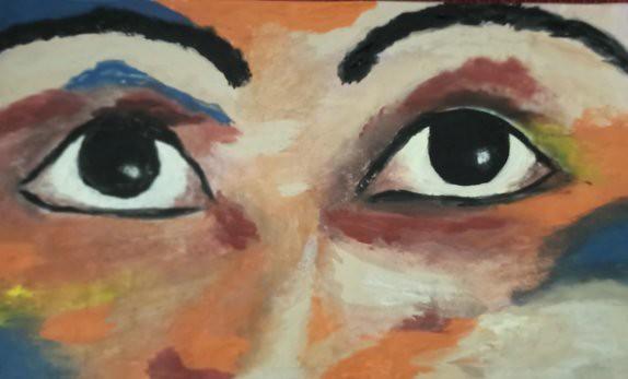 ציירת אמנית יוצרת ישראלית עכשווית מודרנית פלסטית חזותית רחל פרנק  rachel frank