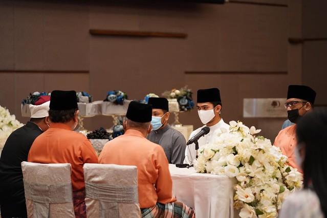 Dua Kali Kena Tangguh, Pelakon Nafiz Muaz & Diyana Omar Kini Sah Bergelar Suami Isteri