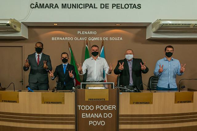 01.01.2021 | Sexta - feira |  Posse dos Vereadores da Câmara Municipal de Pelotas Legislatura 2021- 2024
