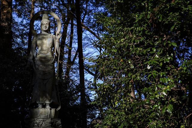 Kannon Bodhisattva In Heirinji-ji Zen Temple, Japan