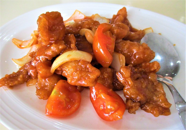 Sweet & sour fish fillet