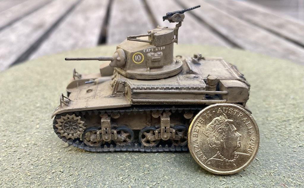 Mirage 726069 1//72 M3 'STUART' Light Tank 2//6th Australian Armoured Regiment