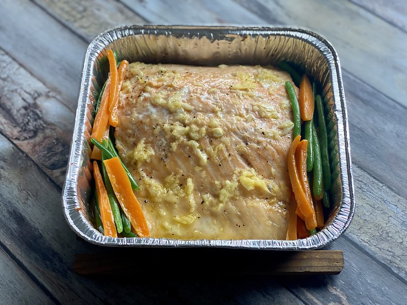 Baked Salmon in Lemon Butter Sauce