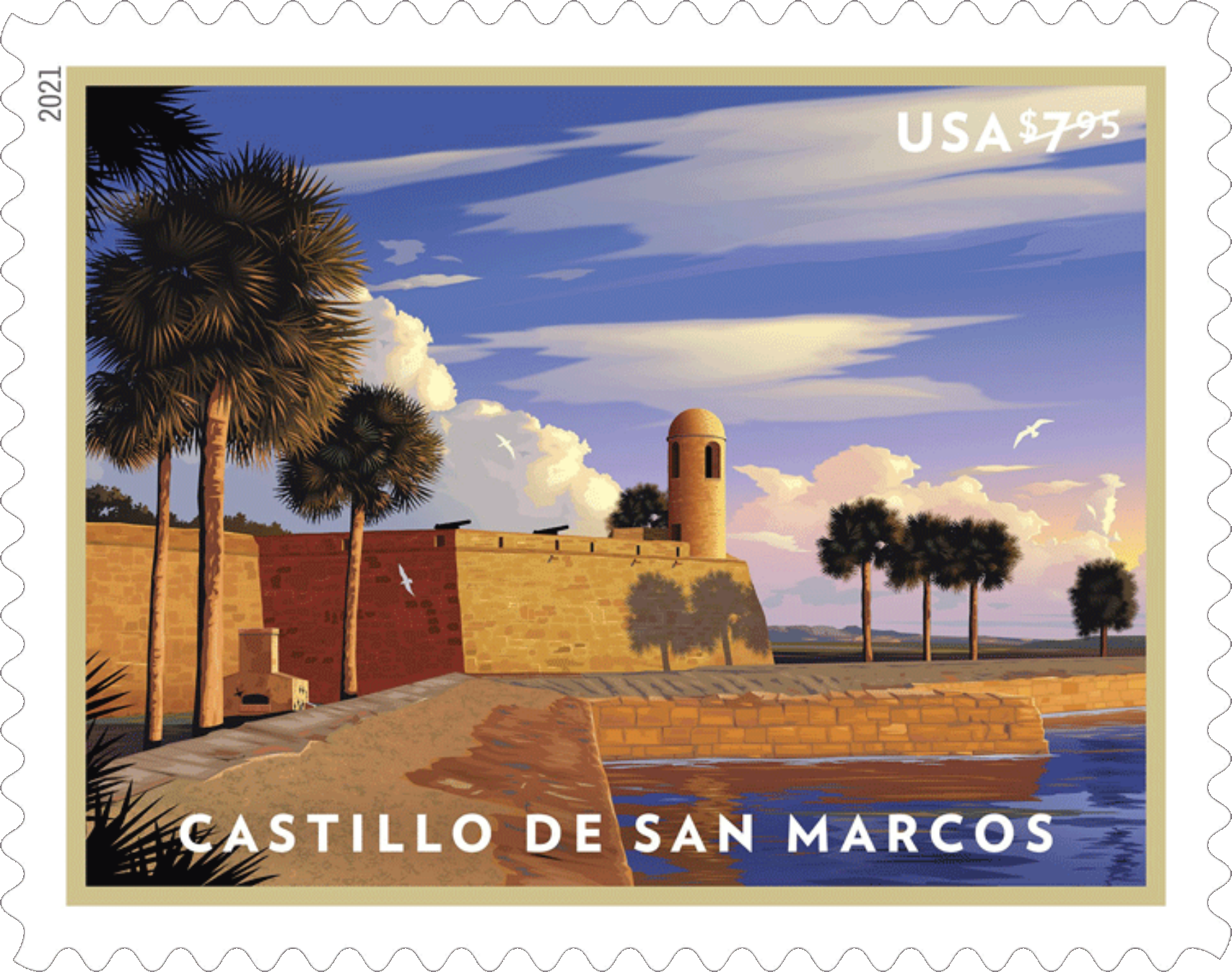 United States: Castillo de San Marcos, 24 January 2021