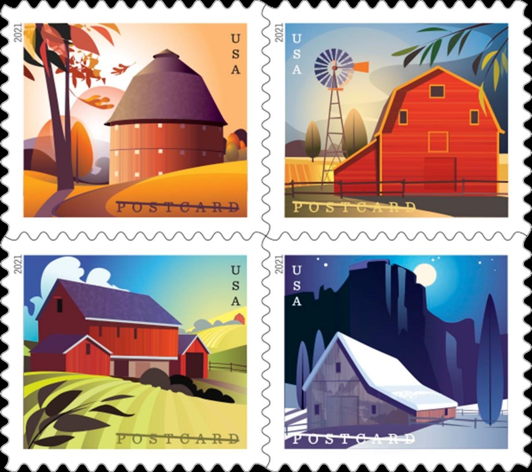 United States: Barns, 24 January 2021