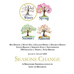 The Seasons Change event by Love t Decorate