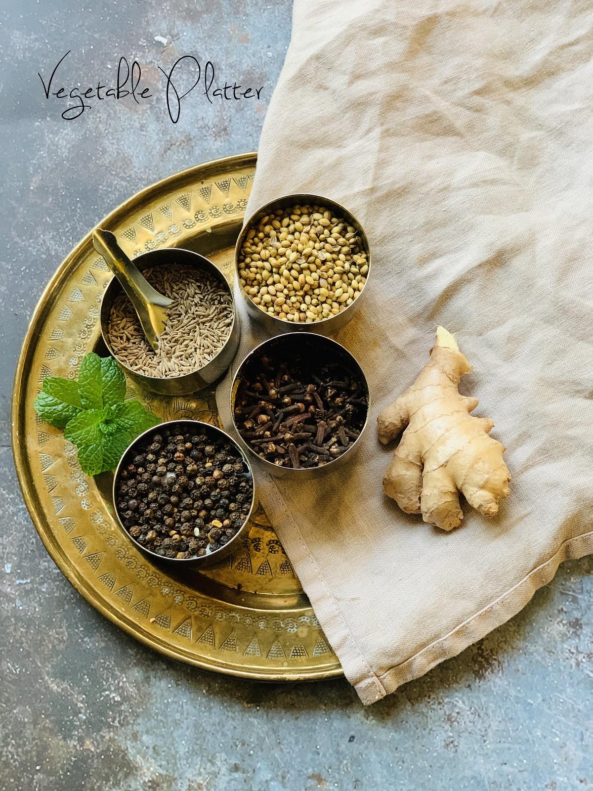 Kashaya Ingredients