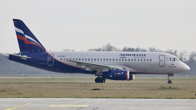 RA-89126 Aeroflot - Russian Airlines Sukhoi Superjet 100-95B © P. Marianic